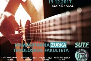 Humanitarna žurka u TD Music Kafeu : Dođite i pokažite da ste humani!